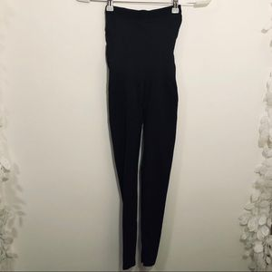 Assets by Spanx black support undergarment legging